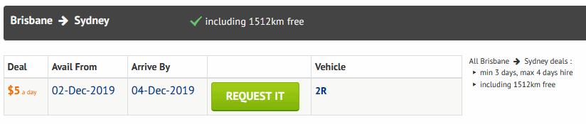 オーストラリアリロケーションキャンピングカー
