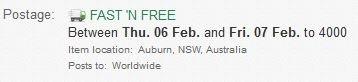 オーストラリア通販サイト送料無料